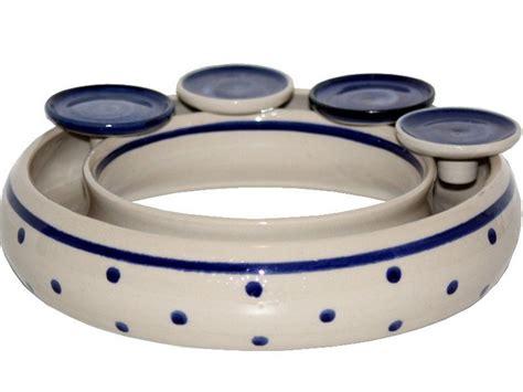 kerzenhalter keramik kerzenhalter jahresring kerzenst 228 nder keramik ca