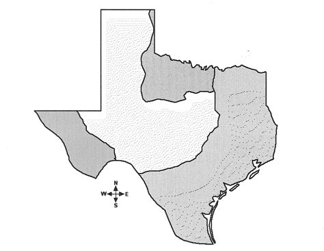 texas blank map geography ms beard s tx history class