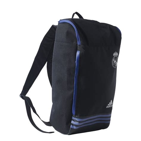 adidas real madrid backpack in black excell sports uk