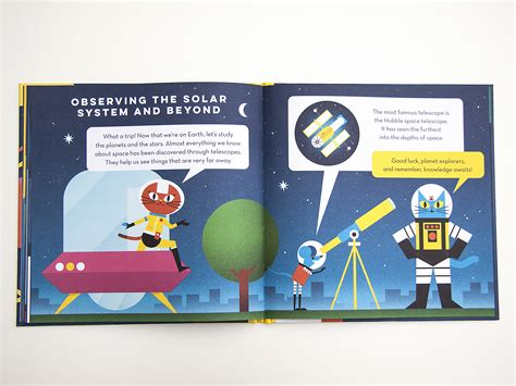 nobrow press professor astro cat s solar system