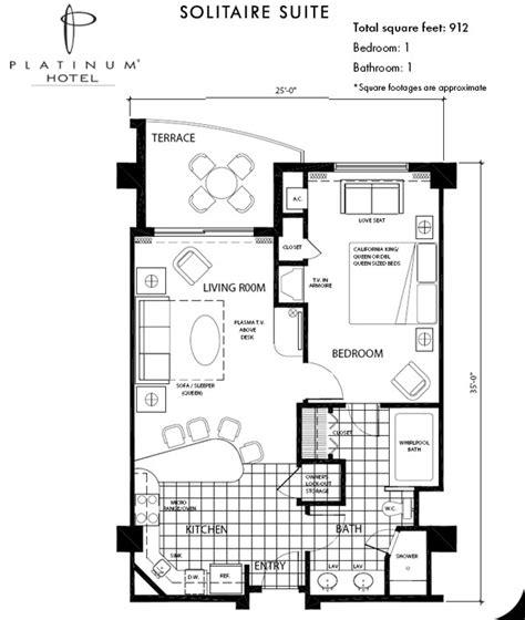 Disneyland Hotel 2 Bedroom Junior Suite Floor Plan - las vegas hotel suites platinum hotel spa