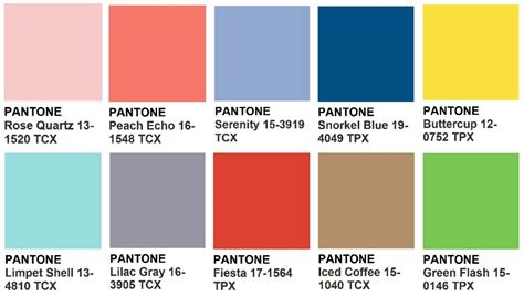 pantone color scheme trends and curiosities archives page 2 of 6 online