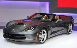 2014 chevrolet corvette stingray convertible front view