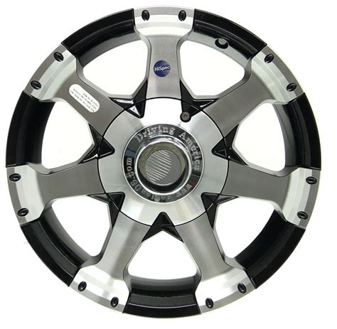 9 inch boat trailer wheels aluminum hi spec series 6 trailer wheel black 15 quot x 5