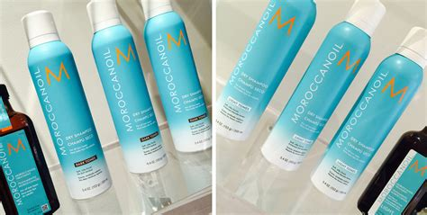 moroccanoil dry shoo light tones moroccanoil launches dry shoo for blondes and brunettes