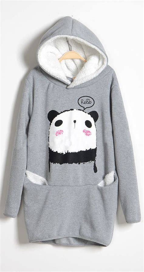 Sweater Panda To 17 best images about clothing on sweater shirt