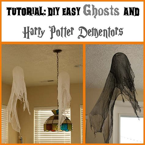 Harry Potter Diy Decor by Diy Ghosts And Harry Potter Dementors