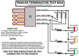 7 way trailer plug wiring diagram with diode 7 free