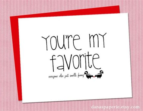 pinterest printable note cards you re my favorite card funny i love you card cute i