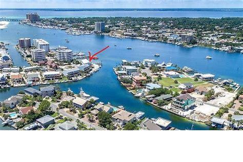 destin fl rental with boat slip destin harborfront townhome with boat slip vrbo