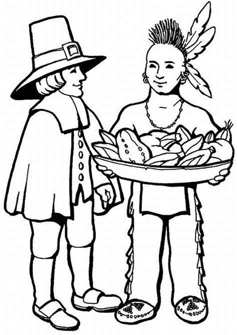 squanto coloring page coloring pages