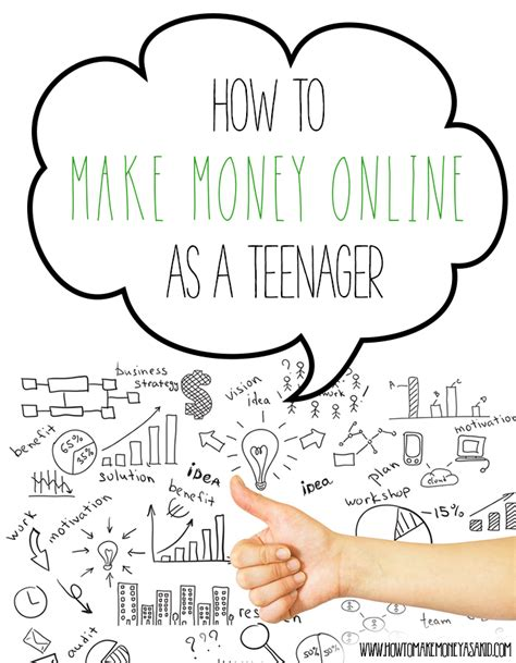 How To Make Money As A Teenager Online - how to make money online as a teen howtomakemoneyasakid com