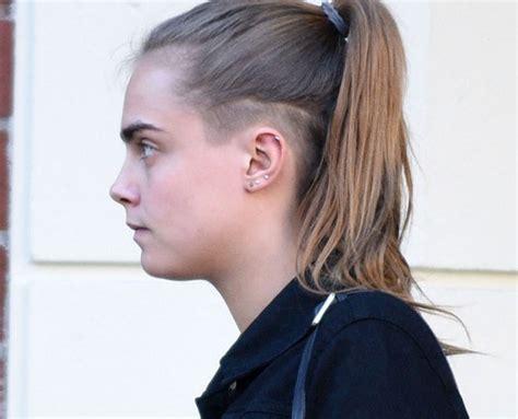 fotos de cortes de pelo de la nuca corte punk revestida revestida com
