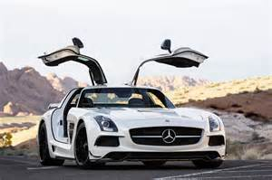 Mercedes Gullwing 2014 2014 Mercedes Sls Amg Black Series Front Photo