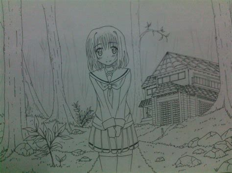 how to draw backgrounds drawing forest backgrounds www imgkid the image