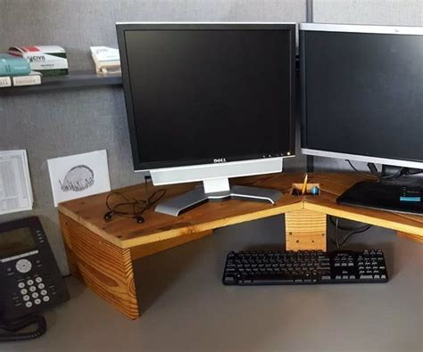 corner desk riser 17 best ideas about monitor on monitor stand