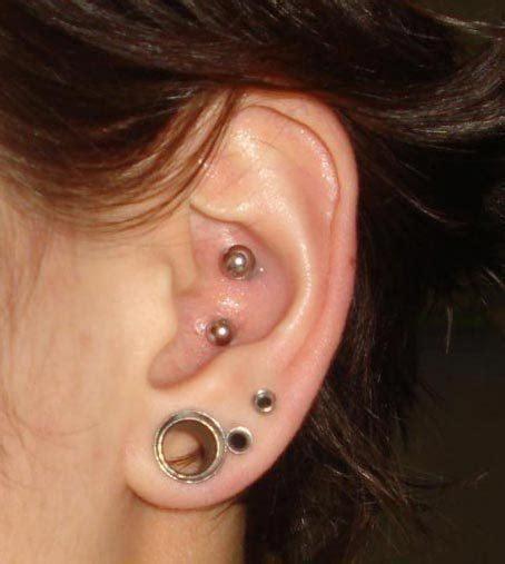 inner piercing conch piercings