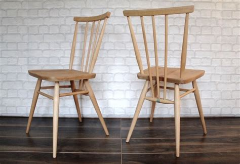 ercol dining table and chairs for sale beautiful ercol chairs two for sale in huntly