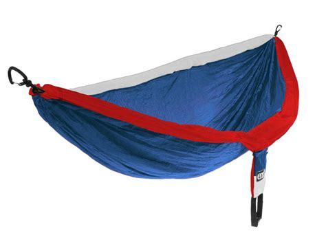 And Blue Eno Hammock eagles nest outfitters eno doublenest hammock patriot white blue ebay