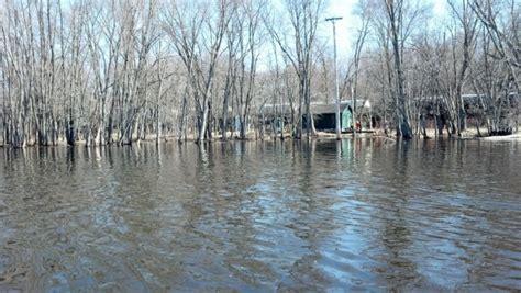boat landing waupaca wolf river at gills landing in waupaca county wisconsin