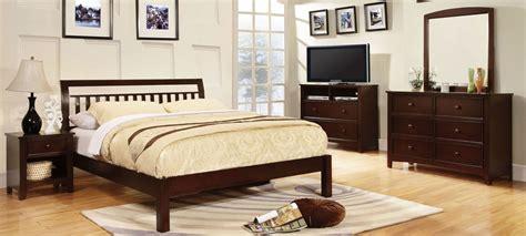 bedroom furniture walnut corry dark walnut platform bedroom set from furniture of