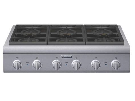 6 Burner Cooktop Pcg366g Thermador 36 Quot Pro Gas Cooktop 6 Burners