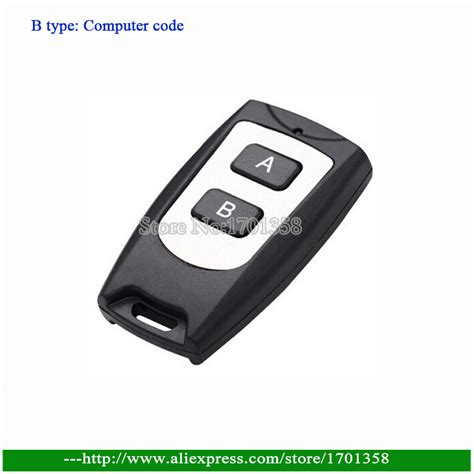 Car Alarm Types by Freeshipping B Type Computer Code 2 Button Car Alarm
