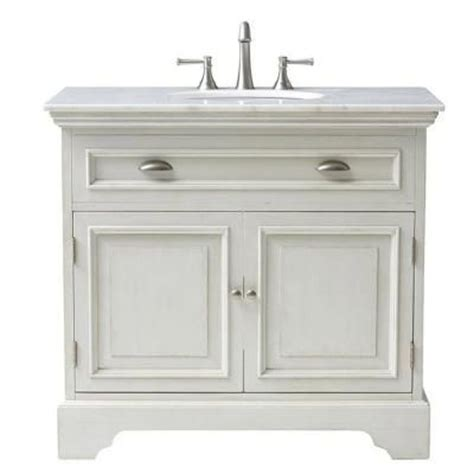 home decorators collection sadie 38 in w bath vanity in sadie 38 in vanity in antique cream with marble vanity