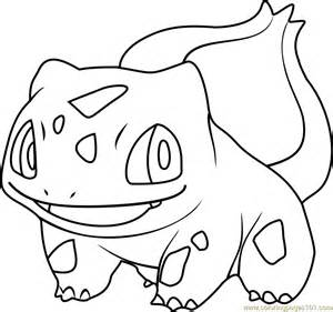 Bulbasaur Coloring Page bulbasaur coloring pages images images
