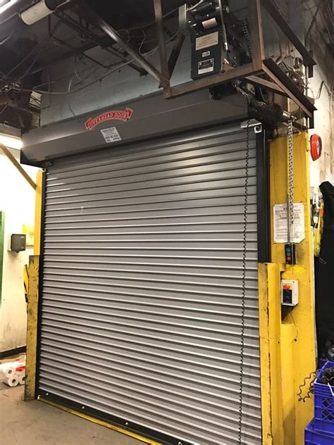 Rolling Overhead Door Finest Doorman Loading Dock New Jersey New York Gray Decker Ariam