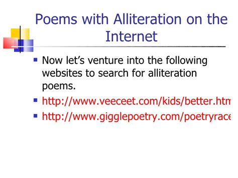 alliteration poem template rhythm rhyme and alliteration