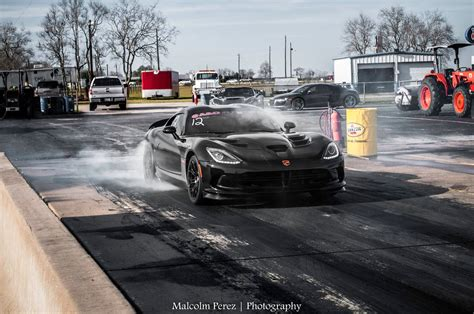 viper out 2015 corvette z06 races challenger hellcat viper and