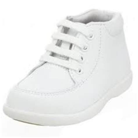 new stride rite quot stg 3 quot white leather baby toddler
