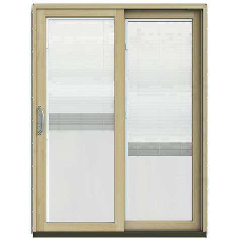 jeld wen patio doors reviews jeld wen 59 1 4 in x 79 1 2 in w 2500 black prehung