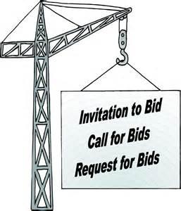 call for bids batzer construction inc