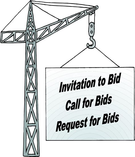 Call For Bids Batzer Construction Inc Invitation To Bid Construction Template