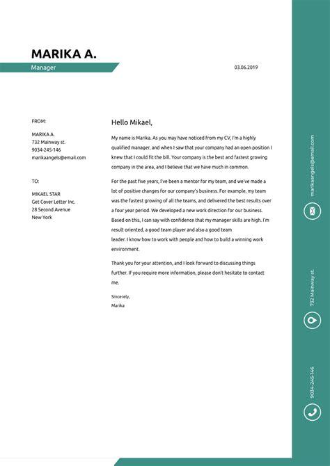 finance director cover letter sample template