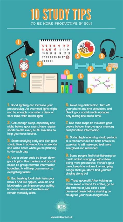 10 Tips On How To Start Working by 78 Best Study Tips And Tricks Images On