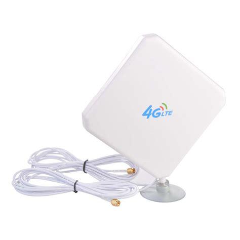 4g Lte Signal Booster Antena 35dbi High Gain Ponsel Lifier Wifi sma 4g lte antenna dual mimo 35dbi high gain network