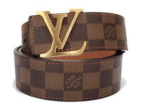 lv belts brown damier gold buckle louis vuitton belt free