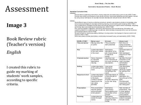book report criteria standard 5 assessment presentation