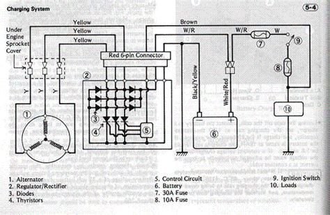 external voltage regulator wiring diagram for chrysler