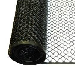 wire mesh home depot tenax 3 ft x 25 ft black poultry hex fence 206866 the
