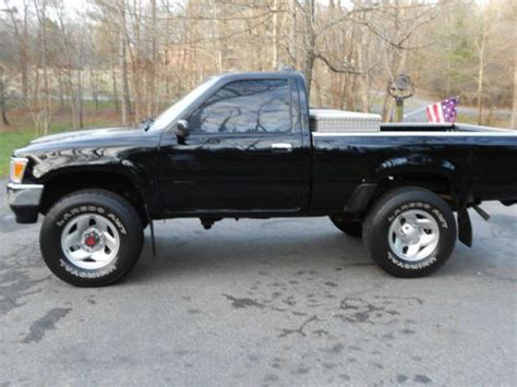 Used 4x4 Toyota Trucks For Sale Sell Used 1994 Toyota Tacoma 4x4 Up Truck In