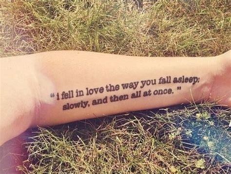 underarm tattoo quotes themarkedgirl