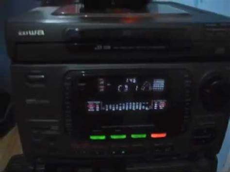 aiwa nsx d23 digital audio system my aiwa nsx 999mkii doovi