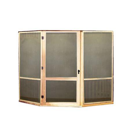 Screen Door Kits by Shop Heartland Screen Kit Brown Screen Kit With Door