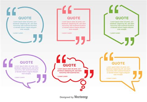 quotation marks layout minimal quotation marks vector labels download free