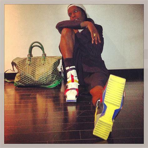 Raf Simons Shoes Asap Rocky by Kick A Look At A Ap Rocky S Shoe Style