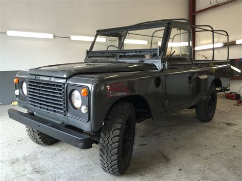 80s land rover 1980 land rover series pre defender military pickup truck